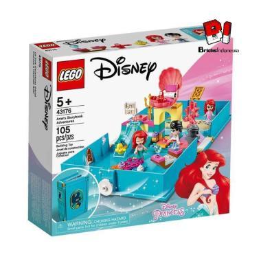 LEGO Disney 43176 Ariel's Storybook Adventure Blocks & Stacking Toys