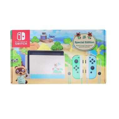 Nintendo Switch Special Edition Animal Crossing Extended Battery Life Konsol Nintendo