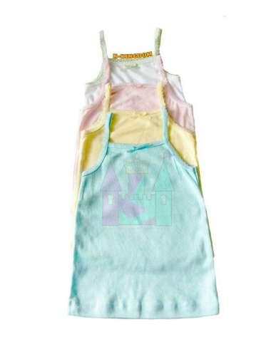 harga Kaos kutang kaus dalam singlet bayi balita anak tanktop tali spagheti adem bagus S Multicolor Blibli.com