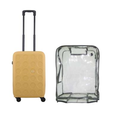 Lojel Bundling Vita 2 Koper Hardcase [Cabin/ 21 Inch ]+ Luggage Cover Cabin