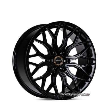 harga Vossen HF6-3 R20x9.5 ET+15 - PCD 6x139.7 Gloss Black | Velg Mobil ORI