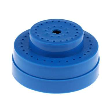 harga Nail Drill Bit Holder Stand Display Storage with Cover 60 Holes Container Blue Blibli.com