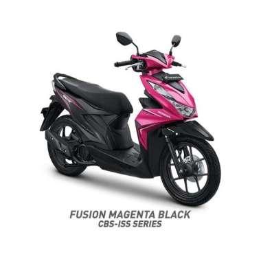 Sumatera - Honda All New BeAT Sporty CBS ISS Sepeda Motor [VIN 2020]