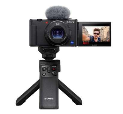 SONY ZV-1 Digital Camera with GP-VPT2BT Shooting Grip Black