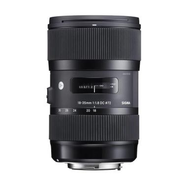 Sigma 18-35mm F-1.8 HSM AF Lens for Nikon - Black - FREE UV Filter