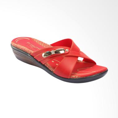 Homyped Mudita-B 43 Sandal Wanita - Red