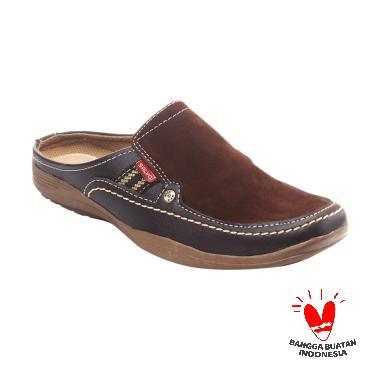 Salvo SL-02 Sepatu Sandal Pria - Coklat