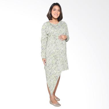 Mamigaya Biyan Bunga Baju Hamil - Green