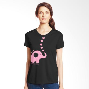 Nakedlily Elephant T-Shirt - Black