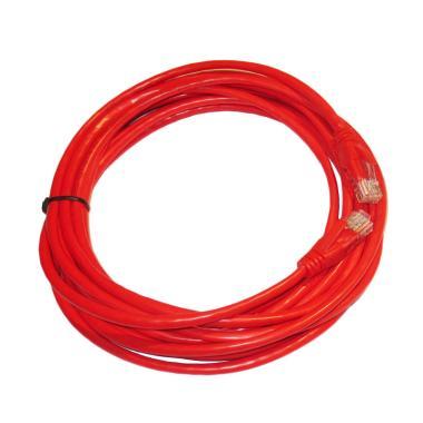 OEM Cat5E UTP Kabel LAN - Merah [5 m]