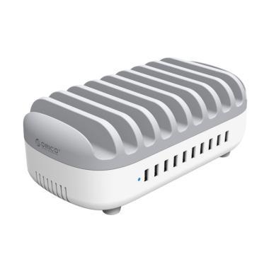 ORICO DUK-10P USB Charger - Putih [10 Port]