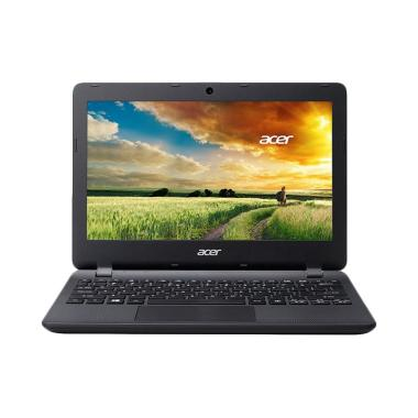 Netbook Acer ASPIRE ES1-132 - Hitam ... S 10/HDMI/Intel HD] Hitam