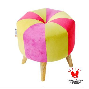 Ayoyoo Orange Slice Moon Stool
