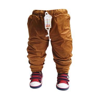 Calix Jogger Pants Kids Baby Celana Anak Laki-laki - Mustard