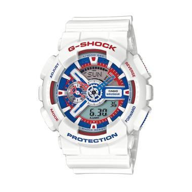 Casio G-Shock GA-110TR-7A Original Jam Tangan Pria - Putih