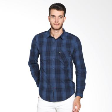 Greenlight Men 234021711 Shirt - Blue
