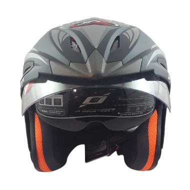 Helm motor double visor