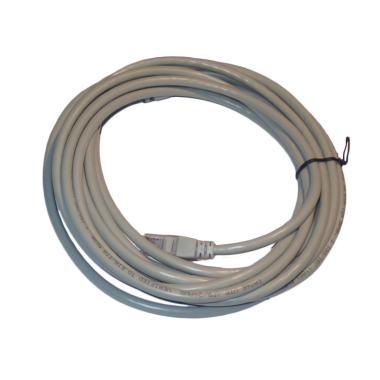 OEM UTP Cat6 Kabel LAN - Abu-Abu [5 m]