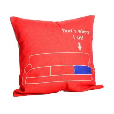 Olc Q2620 Motif That Where I Sit Bantal Sofa