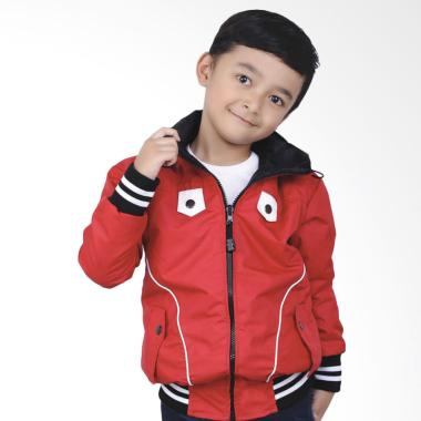 Syaqinah 261 Jaket Anak Laki-Laki - Merah