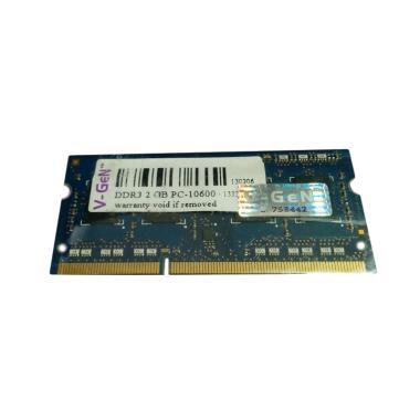 V-GEN SO-Dimm Memory RAM [2 GB/ DDR3/ PC10600/ 1333 Mhz]