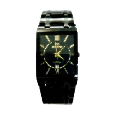 Mirage M975G Fashion Jam Tangan Pria - Black