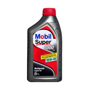 Mobil Super 1000 X2 15W-40 Oli Pelumas [1 Liter]