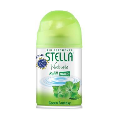 harga Stella Matic Refill Green Fatasy Pengharum Ruangan [225 mL] Blibli.com