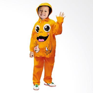 Indoplast Kido Jas Hujan Anak - Orange