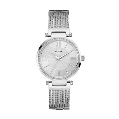 guess_guess-w0638l1-jam-tangan-wanita---silver_full02 10 Daftar Harga Jam Tangan Guess Wanita Murah Termurah bulan ini