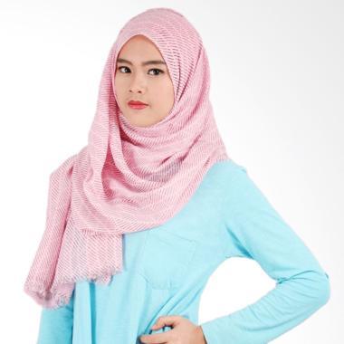 Helwa Tierack Hijab Pashmina - Soft Pink