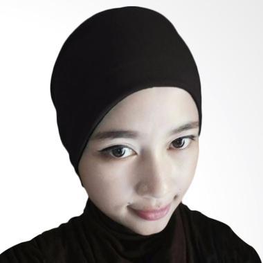 Milyarda Hijab Arab Ciput - Hitam