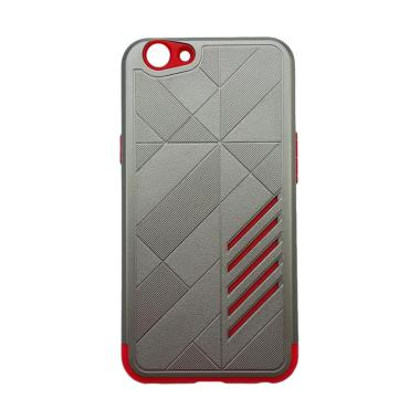OEM Hybrid Casing for Oppo F1s A59 - Grey Red