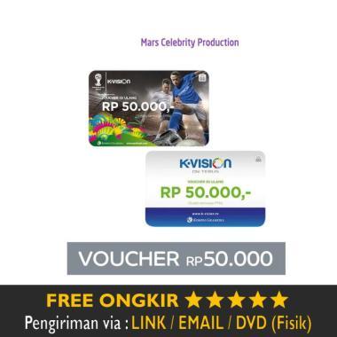 Voucher Paket K-Vision 50.000 Murah Diskon -