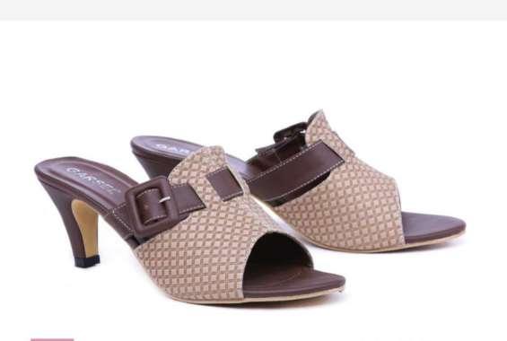 harga Sandal Wedges Wanita GSU 4057 CKLCRE ungu Blibli.com