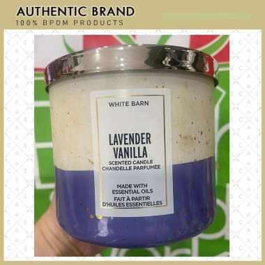 harga Bath & Body Works BBW LAVENDER VANILLA - 3 Wick Candle Blibli.com