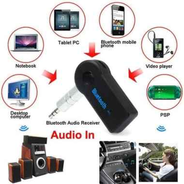 harga TBS - 1 PC ORIGINAL 100% FREE MINI KABEL CHARGER CAR Bluetooth Receiver Adapter Audio Speaker Aux / Untuk Mobil All Handphone PC Laptop PALING MURAH Black Blibli.com