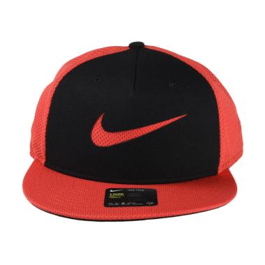 Nike U Nsw True Cap Blue Lbl Ssnl Topi - Red 828578-602