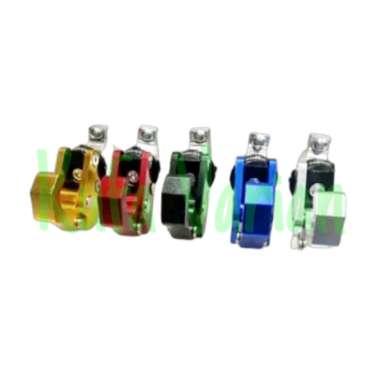 harga Hook Gantungan Cantelan Barang Honda Adv 150 Pcs New Lokal dan Motor Lainnya - Gantungan Lipat + Stang Motor Universal Full CNC Emas - Dengan Bubble Wrap Blibli.com