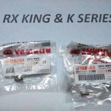 harga Yamaha Genuine Parts Baut-Baud Breket Lampu Depan Oval#Bolt Button Head Rx King Original Blibli.com