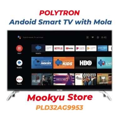 harga POLYTRON ANDROID SMART TV 32