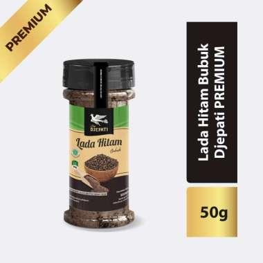 Cap Djepati Lada Hitam Bubuk Premium [50 g/ Botol]