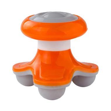 HBS Mini Electric Massager Alat Pijat Genggam - Orange
