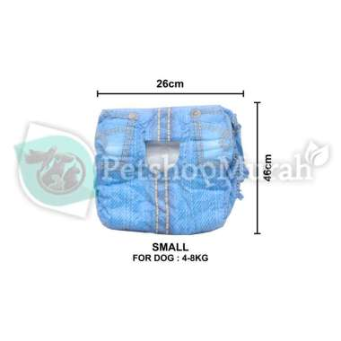 harga Popok Pampers Anjing Kucing Pet Soft Disposable Diapers Satuan SMALL Blibli.com