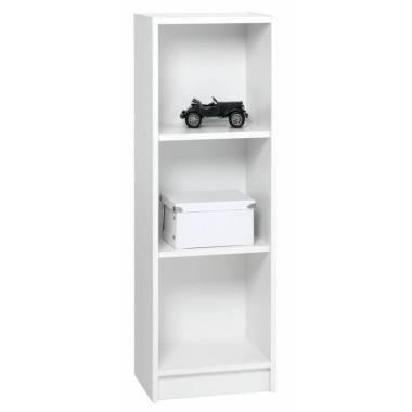 JYSK Slim Three Shelves Horsens Boo ...  White [40 x 30 x 120 cm]