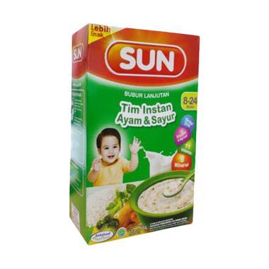 harga Sun Bubur Lanjutan Tim Instan Ayam & Sayur Makanan Bayi Blibli.com