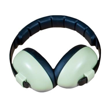 Banz Baby Earmuff Pelindung Telinga Bayi - Light Green [0-2 Years]