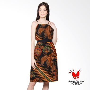 Benangsari Kirana Dress Batik - Cokelat