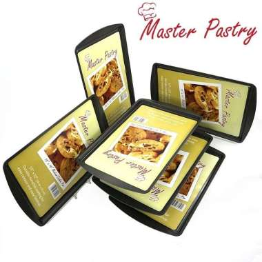 Loyang Kue Anti Lengket / Master Pastry Cookie Pan L 17