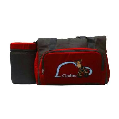 Cladoo CL7202 Series Full Colours + Tempat Botol Susu - Merah Maroon